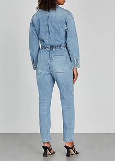 Citizens of Humanity Marta light blue denim jumpsuit - Harvey Nichols Denim Jumpsuit, Ladies Jumpsuit, Overalls, Harvey Nichols, Citizens Of Humanity, Jumpsuits For Women, Blue Denim, Light Blue, One Piece