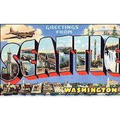 we have the San Fransisco postcard in this style. A full set from each state would be awesome!