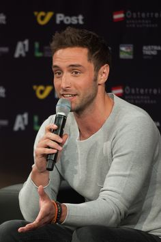 """Age He represented Sweden in the Eurovision Song Contest 2015 with the song """"Heroes"""", and won the contest with 365 points, the third biggest score in the history of ESC. Lund, Lgbt Celebrities, Welcome To Sweden, Swedish Traditions, Lgbt News, Song Reviews, Heath And Fitness, European Tour, Raining Men"""