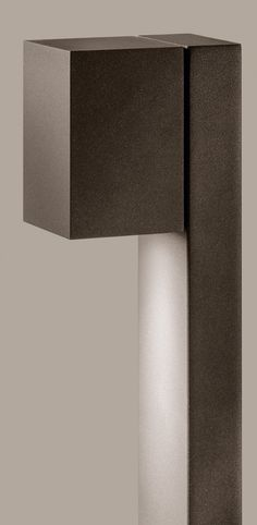quant poller cool brown . outside luminaire . Außenleuchte . bollard . Pollerleuchte . stainless steel cool brown . Edelstahl cool brown . LED