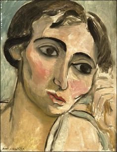 Portrait by Henri Matisse Henri Matisse, Matisse Kunst, Matisse Art, Monet, Portrait Art, Portraits, Matisse Paintings, Post Impressionism, Art Graphique