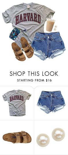 """""""Laid back"""" by aweaver-2 on Polyvore featuring Birkenstock, Honora and Vera Bradley"""