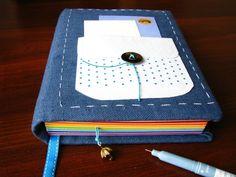Rainbow notebook for my good friend.