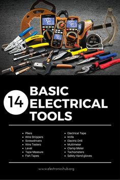 14 Basic Electrical Tools That Every Electrician Needs  #electrical #tools