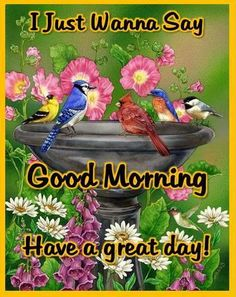 Good Morning All!!!!!!