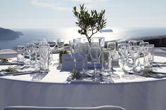 Santorini Wedding by Stella & Moscha at Thermes Villas