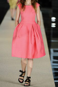 Pink ACNE dress
