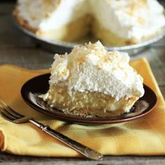 Crazy Coconut Cream Pie