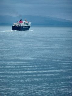 Black Blue Green - Green - Scotland, Mighty Landscapes And Little Ferries