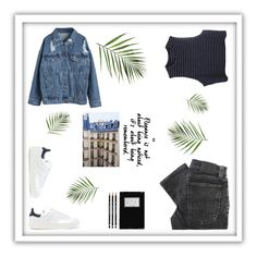 """Untitled #28"" by cilka-nedbalova on Polyvore featuring WithChic, adidas Originals and Nudie Jeans Co."