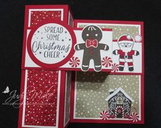 Stampin Up, Cookie Cutter Christmas Bundle, Candy Cane DSP, Sentiment Tin of Tags, Holiday Catalogue 2016