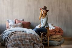 Libeco - Bohemian cowgirl collection (2012) in Belgian linen.