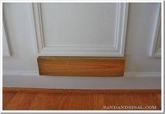 Installing picture frame wall molding