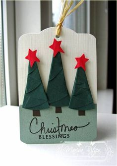 WRM - Christmas Tags by whiterockmama - Cards and Paper Crafts at Splitcoaststampers
