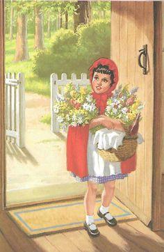 Ladybird Illustration Little Red Riding hood