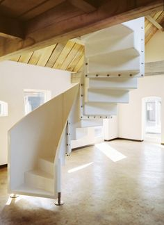 Spiral Staircase House