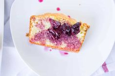French Yogurt Cake with Cherry Syrup - Mon Petit Four Cake Recipe Using Yogurt, French Yogurt Cake, Cherry Syrup, Streusel Coffee Cake, Easy Cake Recipes, Dessert Bars, Cravings, Food To Make, Sweet Tooth