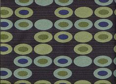 Woven Mid Century Modern Contemporary Geometric Shapes Ovals Upholstery Fabric | eBay