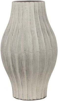 Natural Modern Taupe Color Table Vase  large