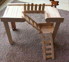 Great for hamsters! Hamster Life, Hamster Habitat, Hamster House, Hamster Stuff, Diy Gerbil Toys, Guinea Pig Toys, Diy Mouse Toys, Diy Rat Toys, Hamster Terrarium