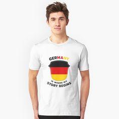 'Germany Ancestry' T-Shirt by favorite-shirt Germany Shirt, Ancestry, Tees, Mens Tops, T Shirt, Fashion, Supreme T Shirt, Moda, T Shirts