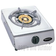 Bromic Deluxe Wok Cooker - Single Burner - Bromic Deluxe Natural Gas Cookers offer high performance 13mj/h burners. Bromic Single Burner Wok Cooker great