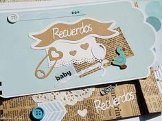 Libro de firmas y recuerdos para bautizo Merbo Events Baby Album, Baby Shower, Diy, Scrapbooking, Solomon, Ideas, Paper, Signature Book, The Godfather
