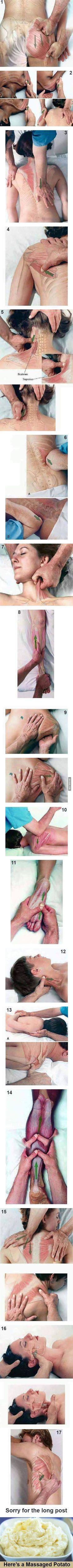 Musculación y masaje.