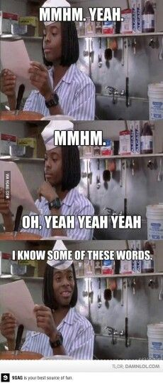 Studying for finals...or just every test the teachers throw at us the final week of school. That works too...
