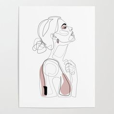 Blush Beauty Poster by explicitdesign - Banish those blank walls: Posters are the most convenient way to bring rad art to your space. Easy Poster, Retro Poster, Blush Beauty, Beauty Art, Canvas Art, Canvas Prints, Art Prints, Art Sketches, Art Drawings