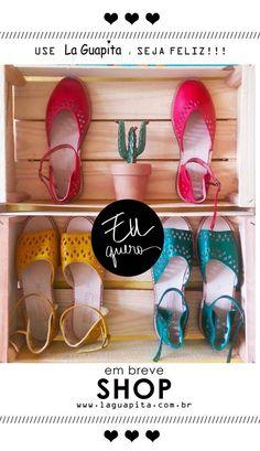 Sandálias Color... uma boa pedida para esse verão! http://www.laguapita.com.br/
