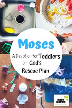 A Toddler Devotion on Moses – Baby Devotions Devotions For Kids, Bible Activities For Kids, Nursery Activities, Bible Stories For Kids, Sunday School Activities, Preschool Bible, Toddler Learning Activities, Bible For Kids, Preschool Lessons