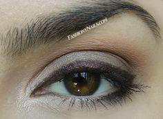 Eye makeup using theBalm and Sonia Kashuk eyeshadows
