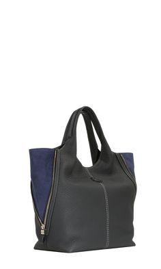 5834fc1d3e6e GUCCI VINTAGE Black Felt TOTE Handbag SHOPPING BAG Purse RARE ...