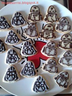 Star Wars Cookies DIY - Blog Feste e Sorrisi  #starwarsparty  #cookies  #festebambini  #ricette