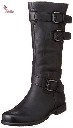ECCO tOUCH 25 b bottes style biker pour femme, Noir (Black), 41 - Chaussures ecco (*Partner-Link)