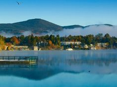 This small village in the Adirondacks is stunning pretty much year round, thanks to its combination of rolling mountains and the clear, spring-fed, 2,173-acre lake. Home to just over 2,500 people, it is a rustic getaway that's popular with hikers, fishermen, and skiers