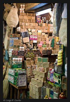 Aleppo - Soap shop by Luigi Carta on Flickr