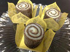 Louzieh Doces Finos: Os TOP 10--Rocambole de Chocolate com Coco