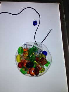 light table lacing beads