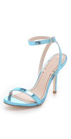 Slim strappy sandals