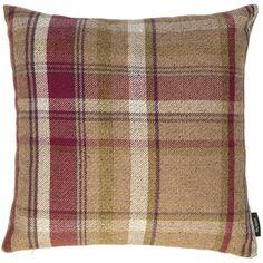 3b273a16c769 Heritage Cushion Cover McAlister Textiles Size: 49 x 49 cm, Colour: Mulberry