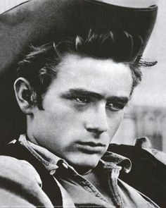 James dean in film Giant