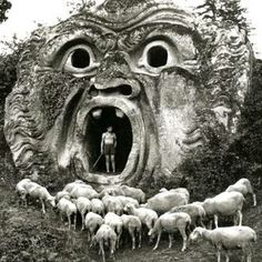 Bomarzo Hell Mouth