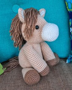 Heidi the Horse Amigurumi Pattern