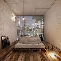 Container house in Vienna # mobile - Architecture and Home Decor - Bedroom - Bathroom - Kitchen And Living Room Interior Design Decorating Ideas - Decor Interior Design, Interior Design Living Room, Room Interior, Mobile Home Bathrooms, Interior Rendering, Amazing Architecture, Architecture Design, Home Decor Bedroom, Sweet Home