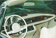 Mercedes Benz W111 280 SE 3.5 Cabriolet restored by www.silverstarrestorations.com