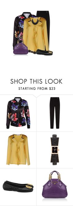 """""""Untitled #574"""" by rasc2016 ❤ liked on Polyvore featuring Ted Baker, jucca, Kate Spade, Tory Burch, Vivienne Westwood, Adoriana, polyvorecontest, fallfashion and polyvorefashion"""