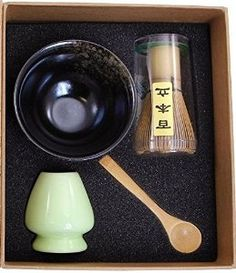 This Beautiful Matcha Tea Gift Set by MatchaDNA includes more than just the basics needed for whisking together the perfect cup of organic Matcha tea.