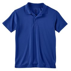 Boys 4-7 Chaps School Uniform Solid Performance Polo, Boy's, Size: